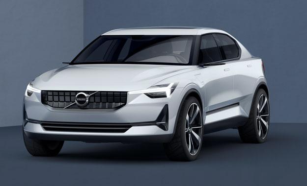 Обновлённый Volvo 40